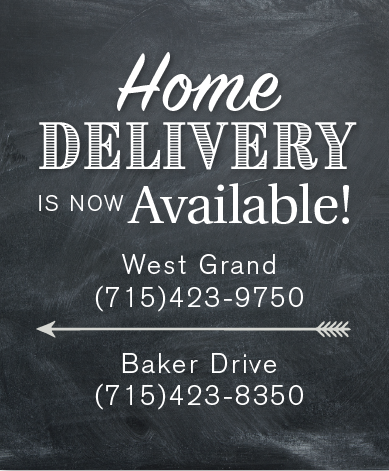 home delivery west grand (7I5)423-9750